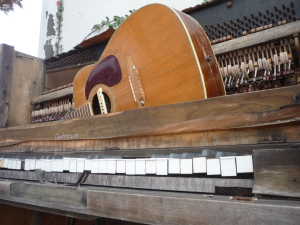 Even the Broken Have a Song Old Guitar and Piano