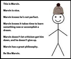 Be Like Marvin Meme