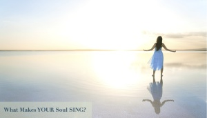 Barefoot-woman-arms-open-to-ocean-and-sun-with-text
