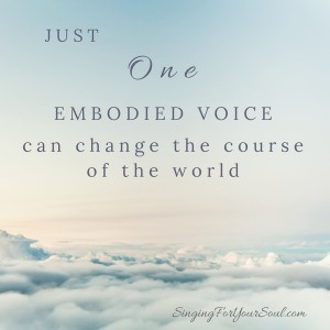 One Embodied Voice